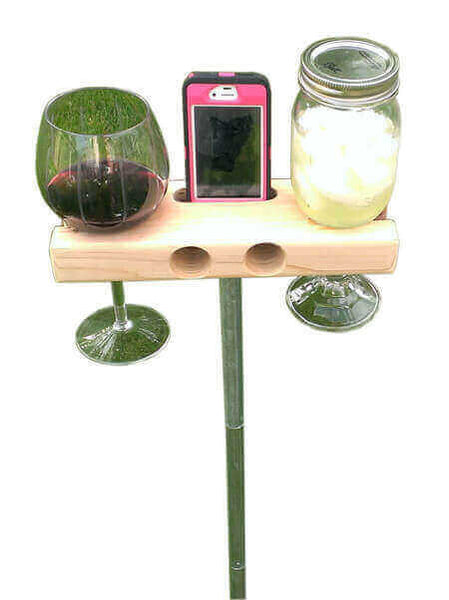 The Wine Dock with stand