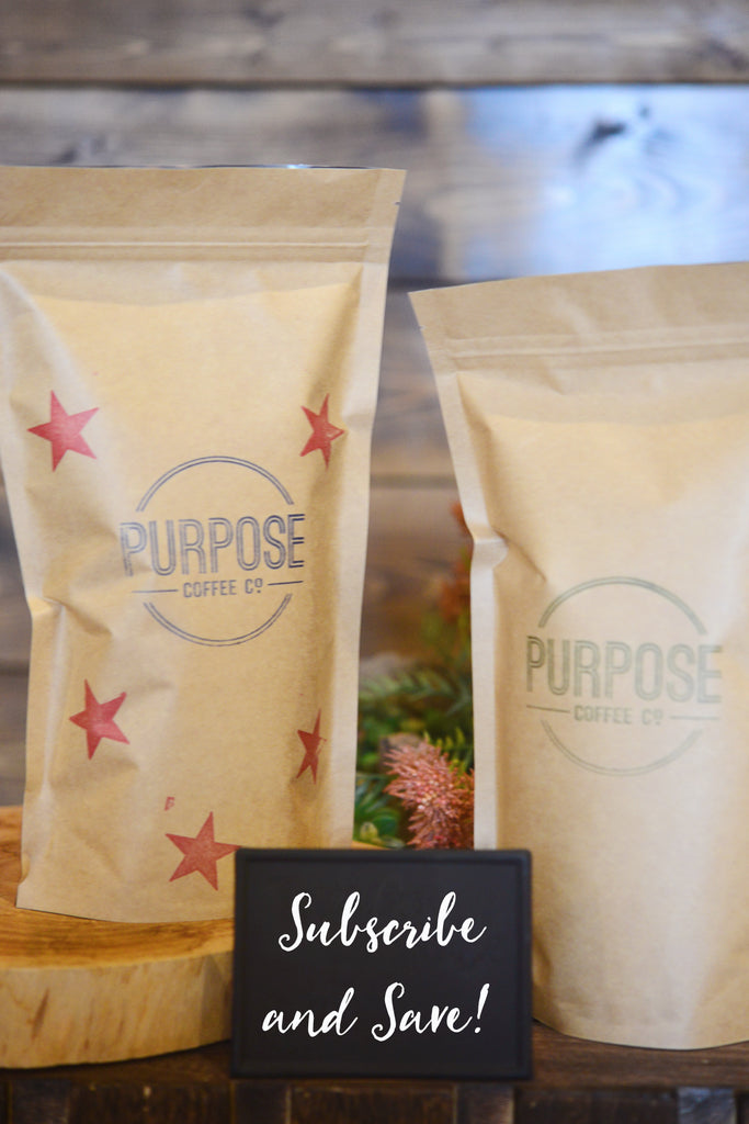 Purpose Coffee Co. Subscription Box