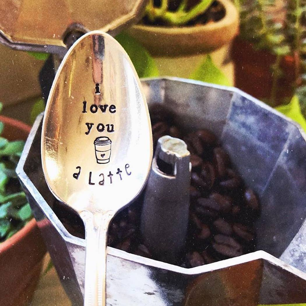 Sweet Thyme Design - A Latte Spoon