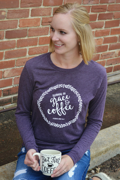 Grace + Coffee Tee