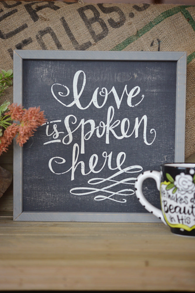Love Spoken Board