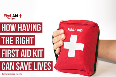 first aid kit(s) save(s) lives