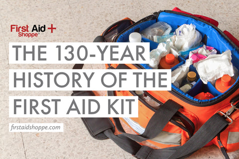 first aid kit history