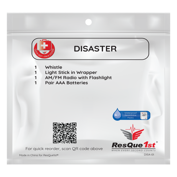Quick Aid® Large Disaster Refill Pack