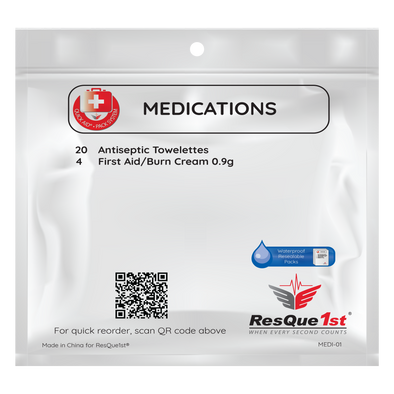 Quick Aid® Large Medications Refill Pack