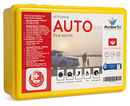 Quick Aid® Auto First Aid Kit