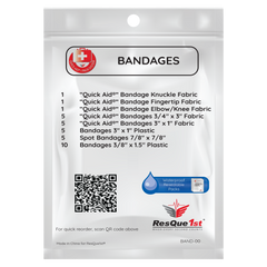 Quick Aid® Small Bandages Refill Pack