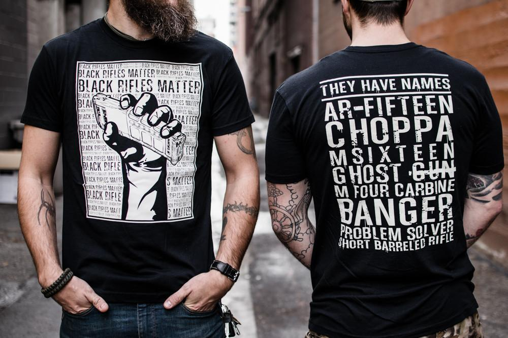 Black Rifles Matter Shirt - Blacklist Industries  - 1