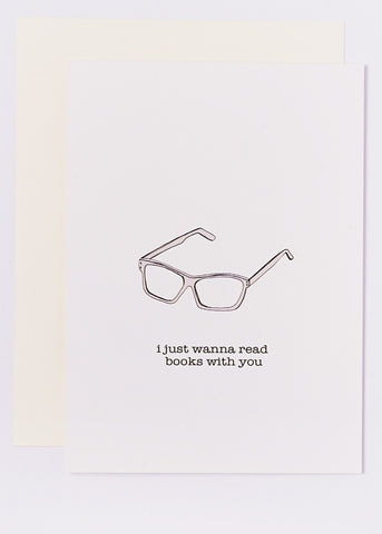 i just wanna read books with you
