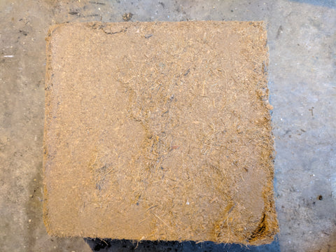 Coco coir Block (unwrapped)