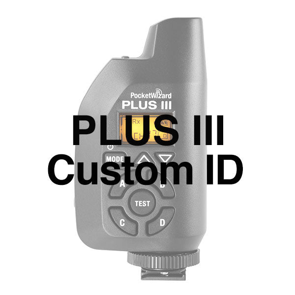 Plus III Custom ID