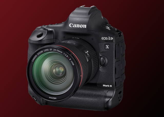 The canon eos 1D-X Mark III