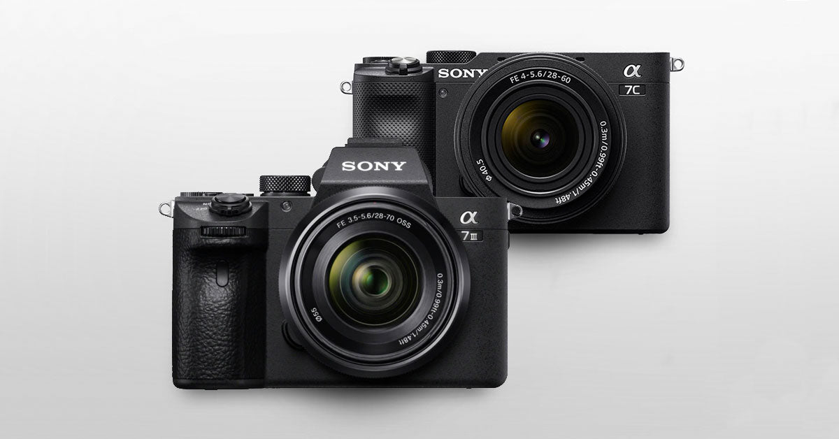 The Sony A7c vs A7III