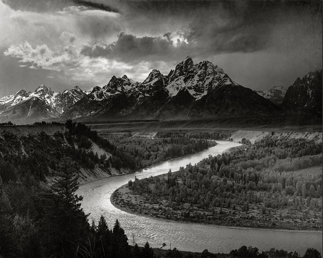 Snake River Overlook, Grand Teton National Park Ansel Adams, 1942