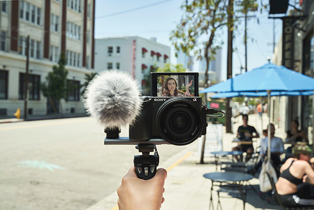 The Sony a6600 can be used as a vlogging camera and purchased at pictureline in Salt Lake City, UT