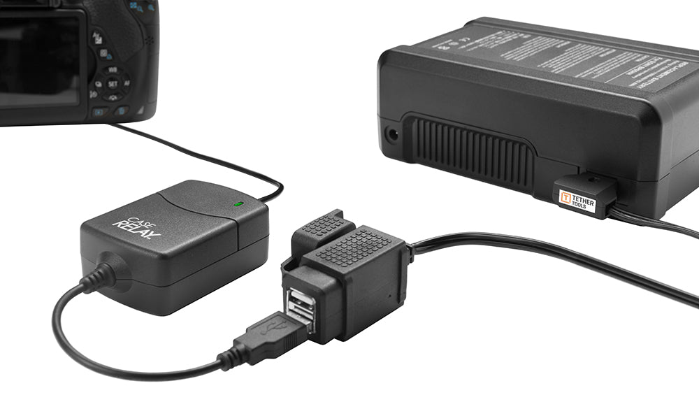 D-Tap connector to USB power