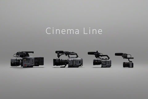 Smallest cine camera from the sony FX line