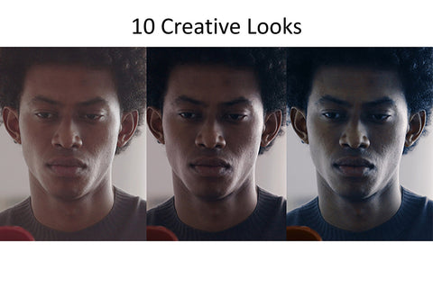 Creative looks available in camera