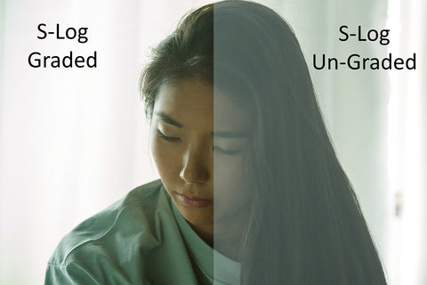 S-Log Color Grade options for matching camcorders