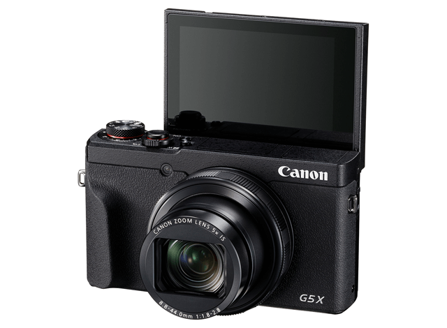 the G5 X Mark II with tilt screen