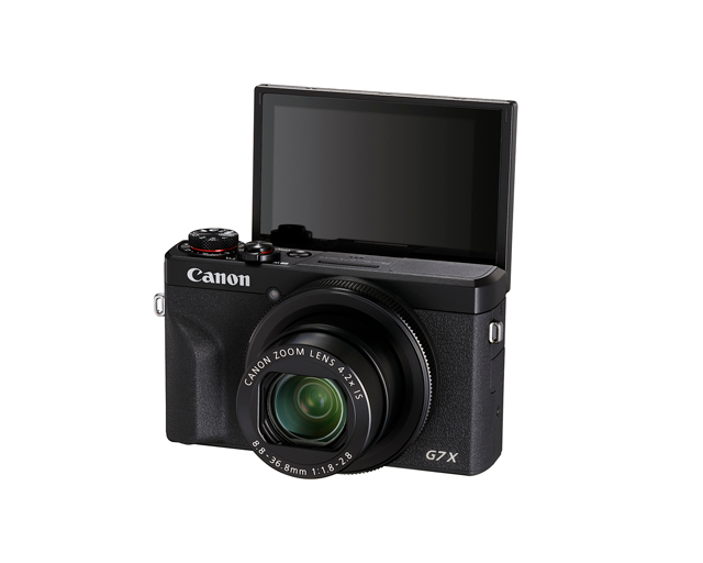 G7X III can be used as a vlogging camera and purchased at pictureline in Salt Lake City, UT