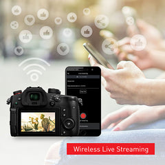 GH5M2 Wireless Live Streaming with Panasonic App