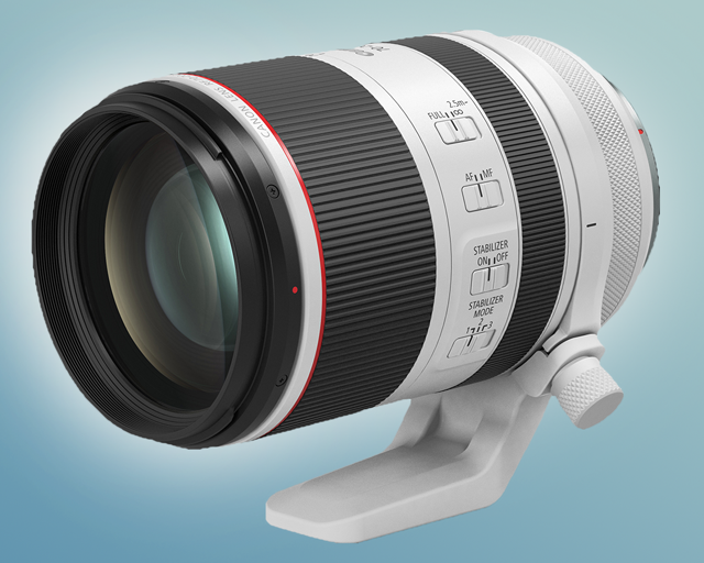 The Canon RF 70-200mm F1.2 lens