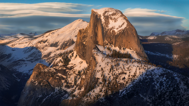 half dome by eric bunch