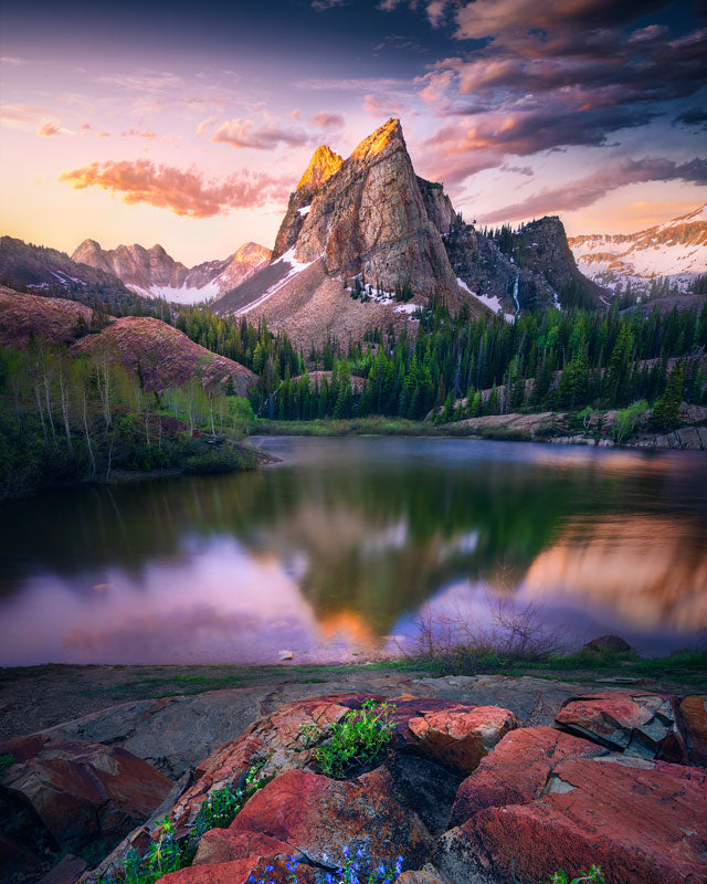 Lake Blanche captured by chance allred