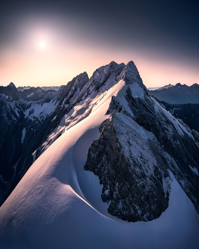 Mount Cook New Zealand captured by chance allred