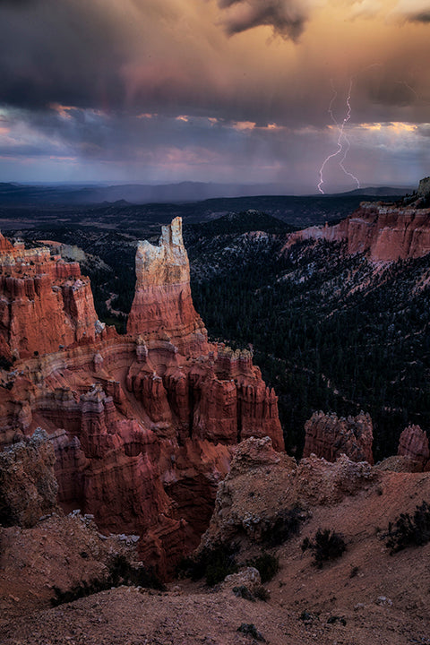 Image by Phill Monson of Utah Landscape and Lightning