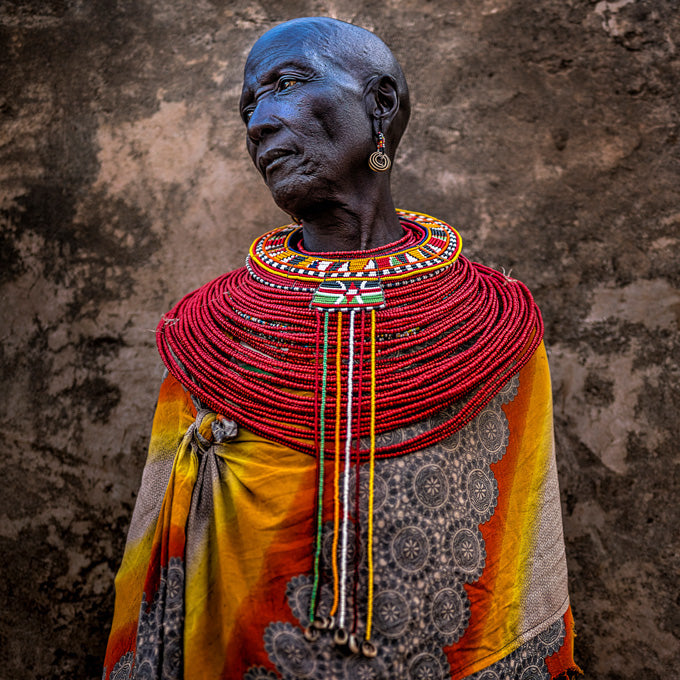 Image of African woman by Michael Schoenfeld