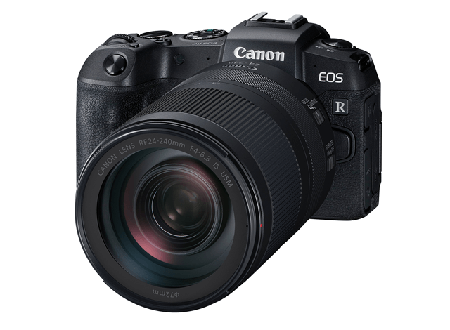 The Canon EOS RP and the RF 24-240mm Lens