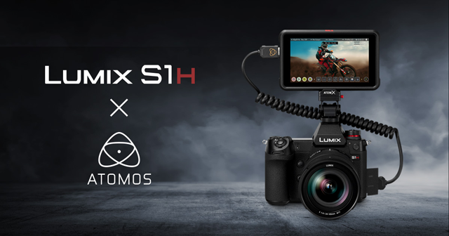 Panasonic Lumix S1H with Atomos for 6K RAW