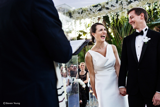 Wedding couple by steven young