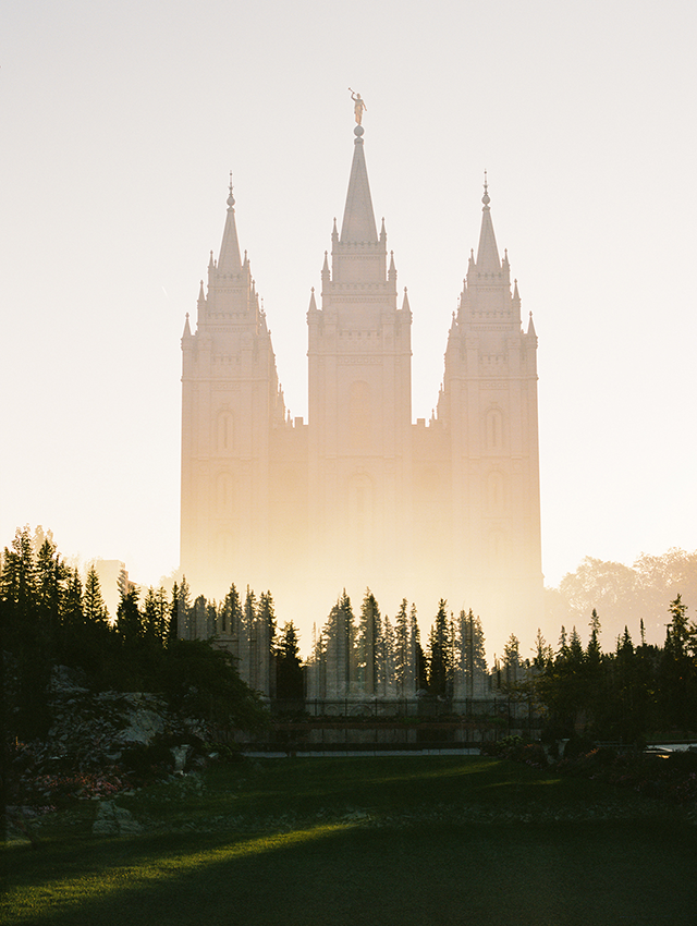 photo of the salt lake temple taken by jessica parker