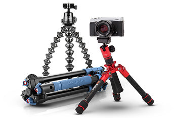 travel and compact tripods