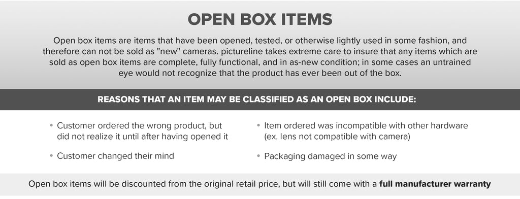 Open Box Policy