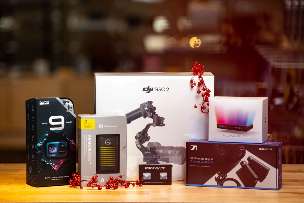 2020 holiday videographers gift guide