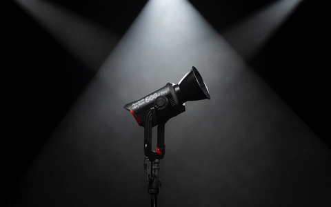 Aputure 600D PRO on the stage in the spotlight