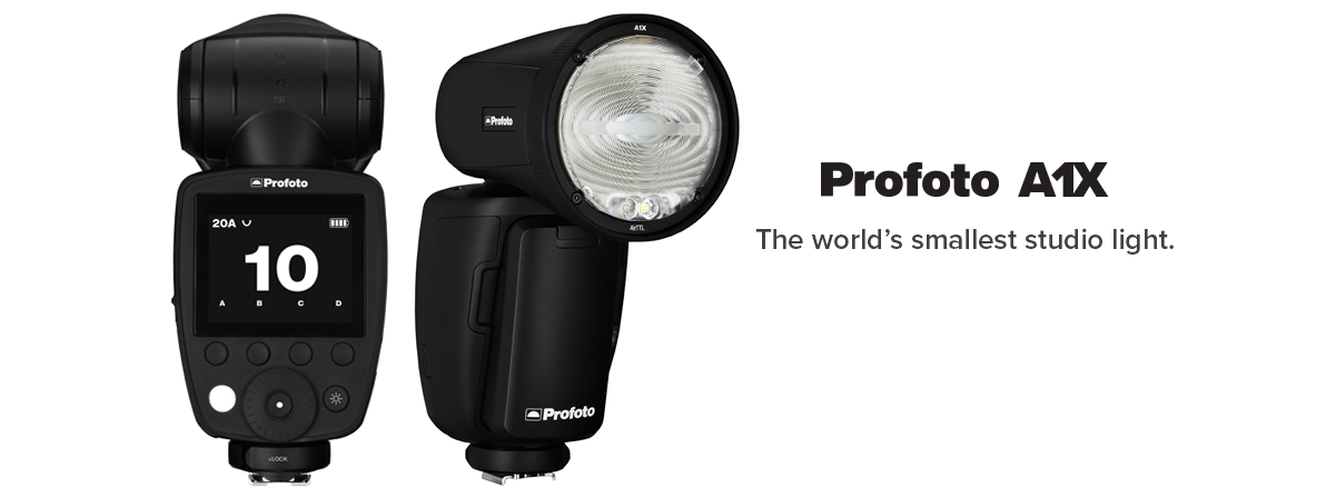 Profoto A1X Speedlite available at pictureline