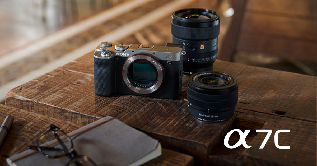 The Sony A7c and lenses