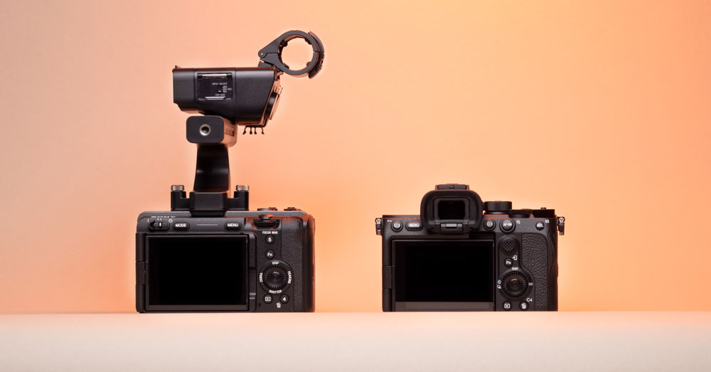 a7siii vs. fx3 layout