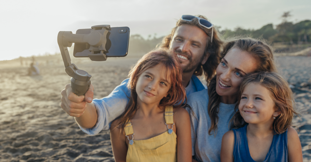 Osmo Mobile 3 used with family