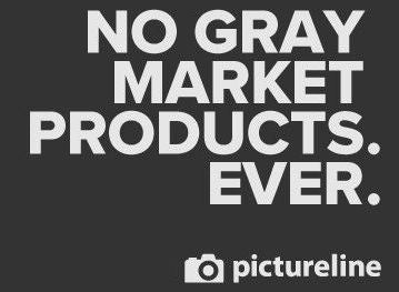 No gray market products
