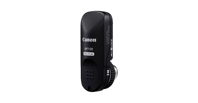 The Canon Wireless File Transmitter WFTE9A