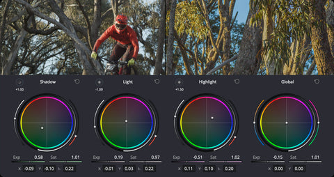 HDR color grading tools with Davinci Resolve 17