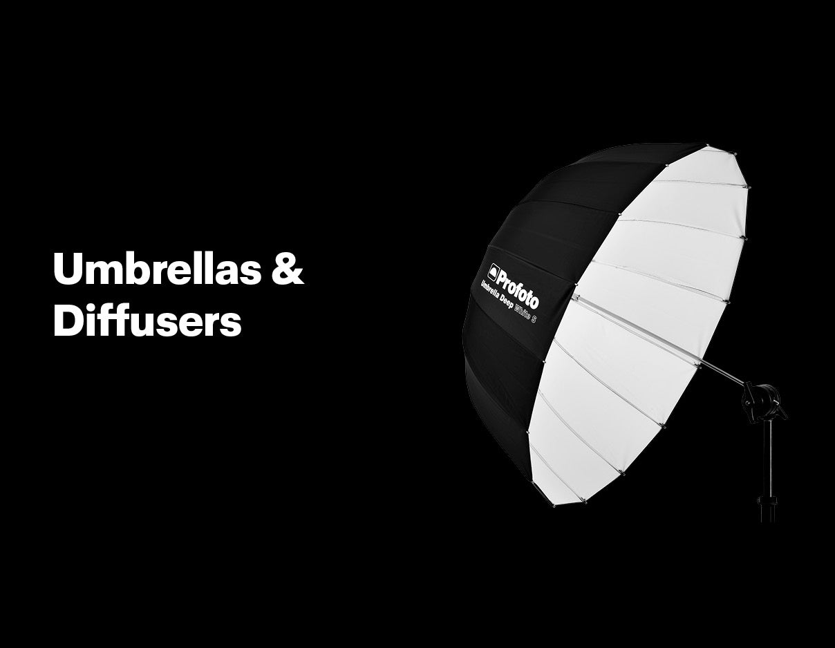 Profoto Umbrellas and Diffusers