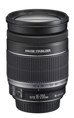 Canon EF-S 18-200mm f/2.5-5.6 IS Lens