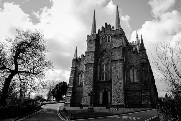 Down Cathedral – Downpatrick, Northern Ireland, David Cleland, FlixelPix, St. Patrick's Day